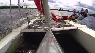 Dart 18 Catamaran sailing