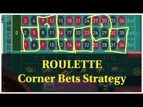 Roulette WIN Tricks, 6 Corner, Online ROULETTE, Roulette Strategy