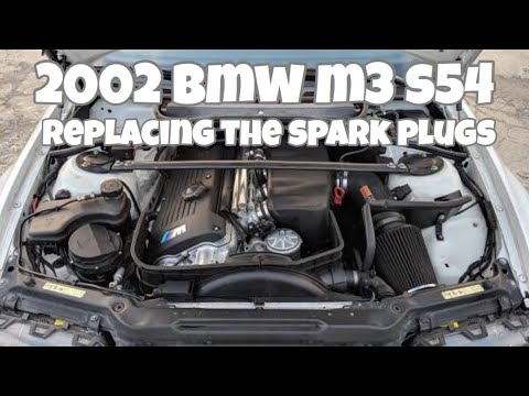 How to change spark plugs e46 m3 S54