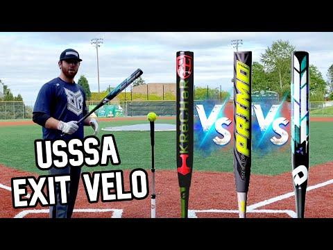 Exit Velo Testing - Miken Vs DeMarini Vs Worth USSSA Slowpitch Softball Bats