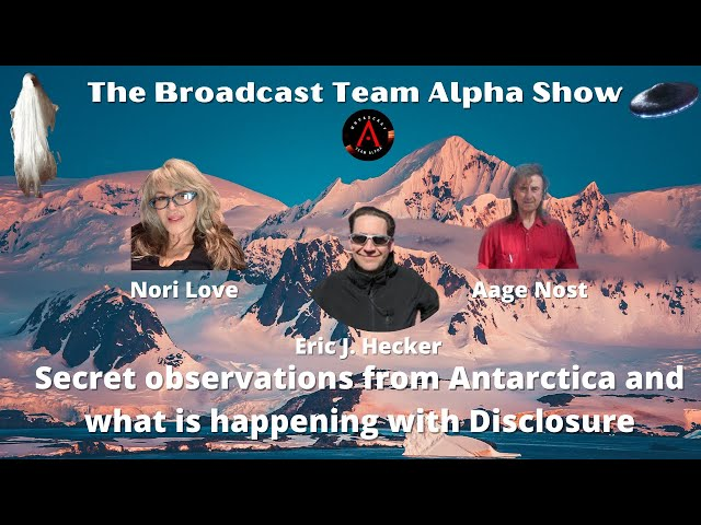 Secret observations from Antarctica and what is happening with Disclosure