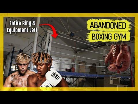 Welsh Abandoned Boxing Gym (Everything Left Behind)