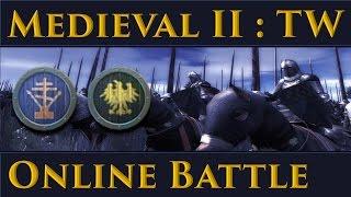 Medieval II: Total War Online Battle 4 Russia vs HRE
