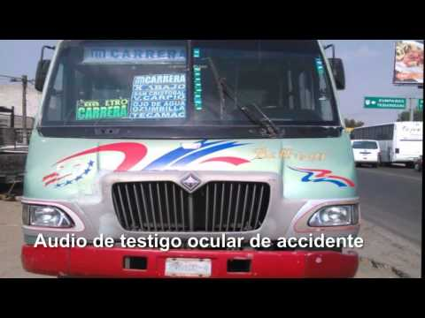 incidente en el libramiento de Reyes Acozac