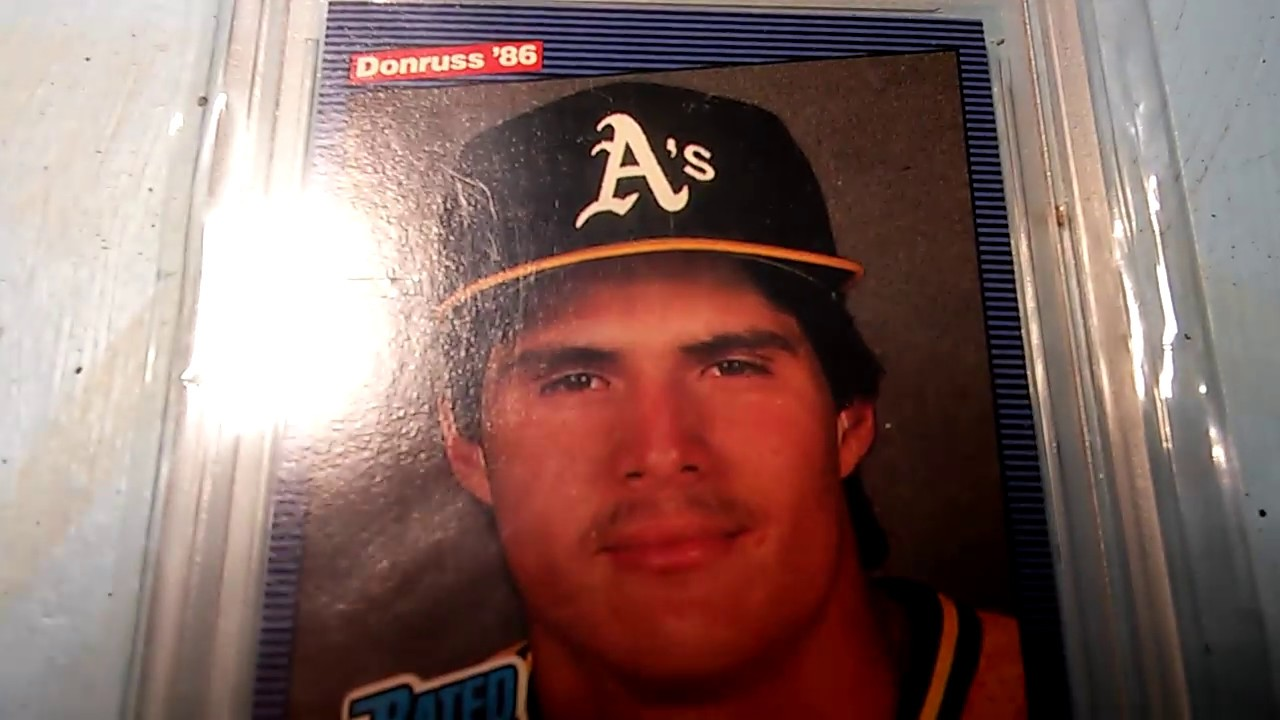 Jose Canseco Rated Rookie 1986 Donruss 39