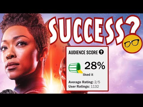 Star Trek Discovery 28% Rotten Tomatoes Audience Score | CBS Declares Season 2 A Success!