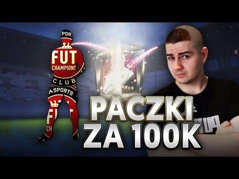 PACZKI ZA 100k - Jestem zarobiony! - Nagrody za Mistrzostwa FUT! | FIFA 18