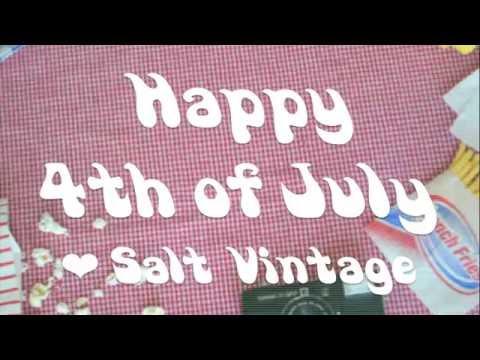 SALT vintage *4th of July * SALE