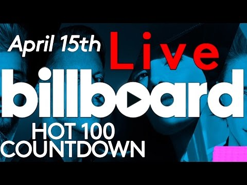 LIVE! Billboard Hot 100 Top 10 Official Countdown: April 15th Early Release!