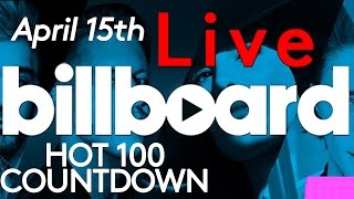 live billboard hot 100 top 10 official countdown april 15th early release
