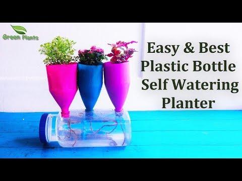 download Plastic Bottle Self Watering System | Easy & Best Plastic Bottle Self Watering Ideas//GREEN PLANTS