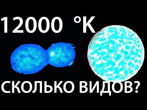 Какие бывают звезды во Вселенной?