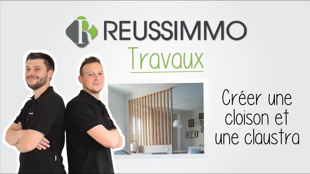 Claustra A Faire Soi Meme #1 reussimmo travaux : créer une cloison et une claustra