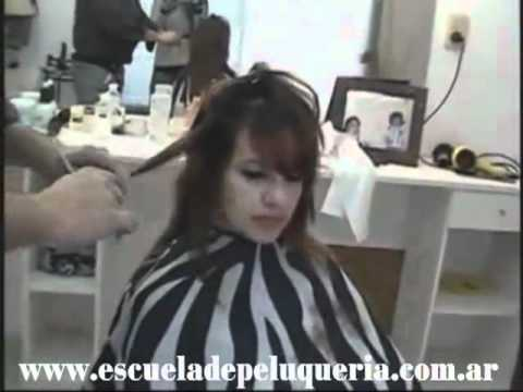 Woman Layered Cuts Dry Hair - Cortes en Capas Pelo Seco Videos De Viajes