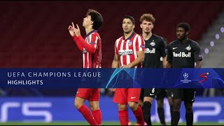 UEFA Champions League | Atletico Madrid v Red Bull Salzburg I Highlights