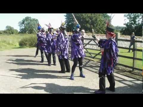 Pedants' Revolt dancing 'Not for Joe' at Castle Acre priory