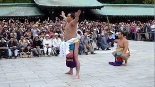 2012年9月28日(金)、明治神宮で行われた第70代横綱日馬富士の横綱推挙式...