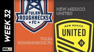 Tulsa Roughnecks FC Vs. New Mexico United October 12 2019