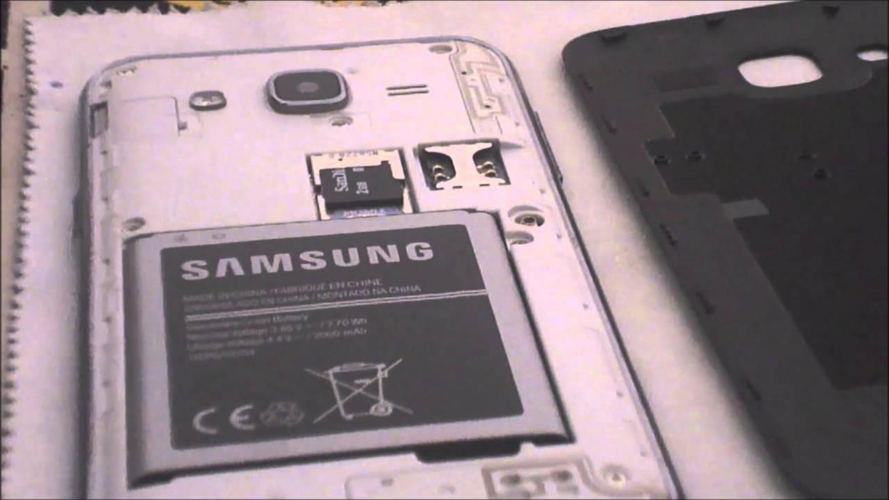 How To Insert SD Card In Samasung Galaxy J2