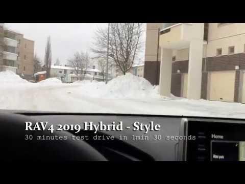 RAV  Hybrid - winter / snow test drive