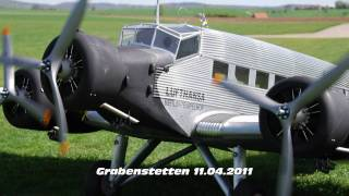 Repeat youtube video Worlds largest Ju 52 RC 100kg