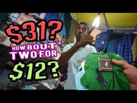 Sri Lanka Knockoff Market Spree!