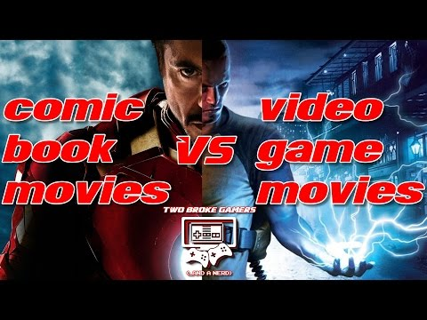Why Are Comic Book Movies Good... But Video Game Movies Suck?