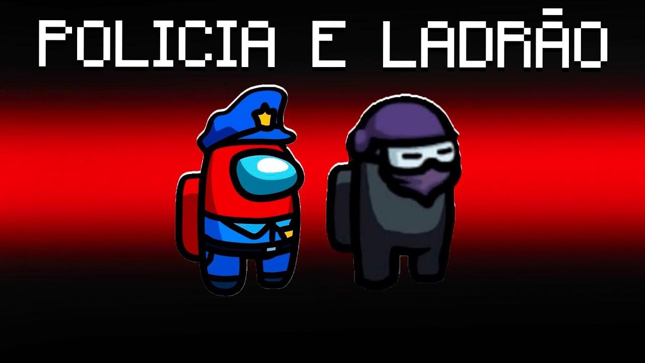 Among Us POLÍCIA E Ladrão (fuja)