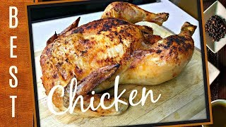 HOW TO ROAST A WHOLE CHICKEN | EASY ROSTED CHICKEN RECIPE