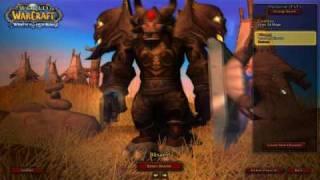 WoW Tauren Prot Warrior: Blisaed LvL 80 -9/15/2009