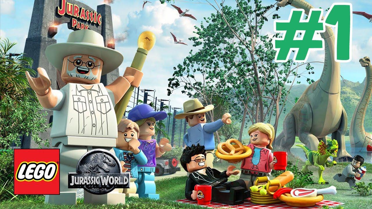 Zagrajmy W Lego Jurassic World Odc1 Park Dinozaurów Youtube