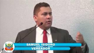Samuel Isidoro Pronunciamento 01 11 2017