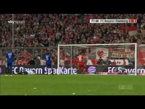 Franck Ribéry - Tor gegen HSV [HD]
