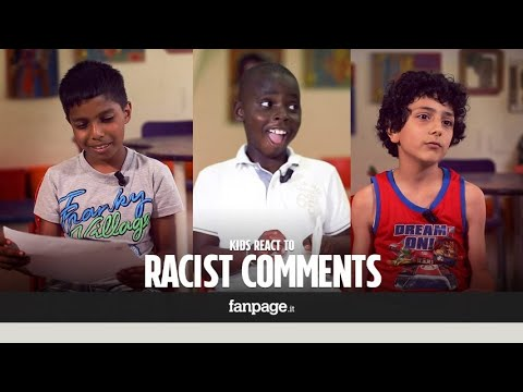 """You are just a nigger"": children's reactions"