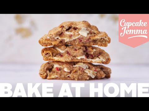 Raspberry White Chocolate New York Cookie Bake Along! | with Jemma, Sally & Dane from YouTube · Duration:  23 minutes 24 seconds