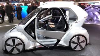 Salon de l'auto de Genève 2018 - Voiture volante Audi / Airbus.