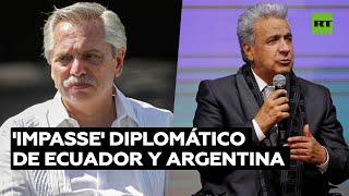 'Impasse' diplomático de Ecuador y Argentina tras unas declaraciones de Alberto Fernández