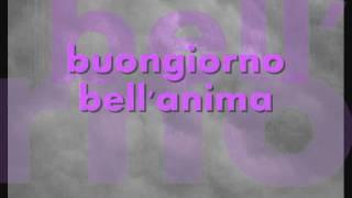 BIAGIO ANTONACCI - BUONGIORNO BELL