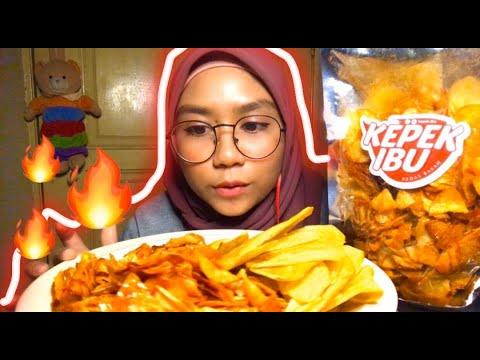 KEREPEK UBI PEDAS BASAH AHHH RECIK   Aku Review Krepek Anep from YouTube · Duration:  5 minutes 36 seconds