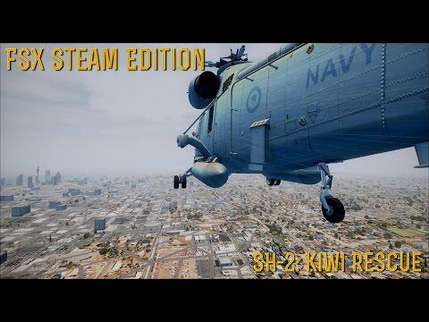 [FSX SE] MISSIONS: SH-2 Kiwi Rescue