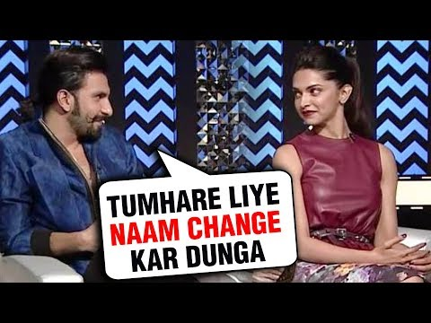 Ranveer Singh REACTS On Changing His SURNAME To PADUKONE After Marriage