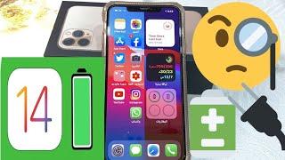 توفير شحن بطارية الايفون اصدار iOS 14