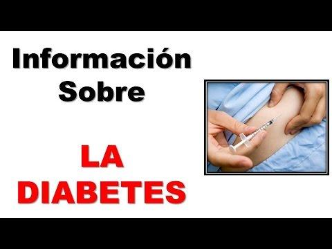 Informacion Sobre la Diabetes. La Diabetes y lo que Debes Conocer