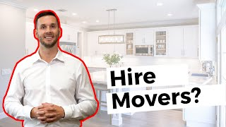 Home Sale Tips: Moving Day -- Hire Movers, or Move Yourself? #movemetotx