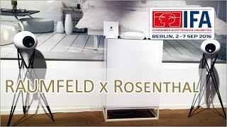 IFA 2016: Raumfeld X Rosenthal - Porzellan Lautsprecher vorgestellt