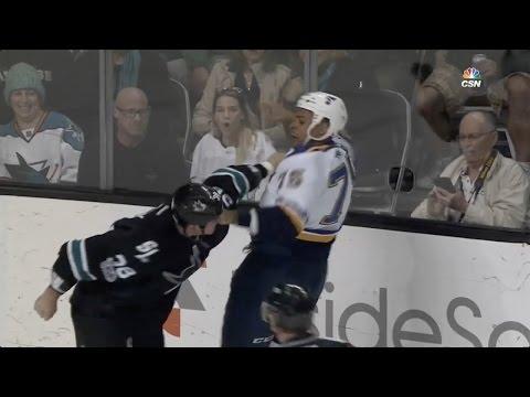 Ryan Reaves vs Micheal Haley Mar 16, 2017