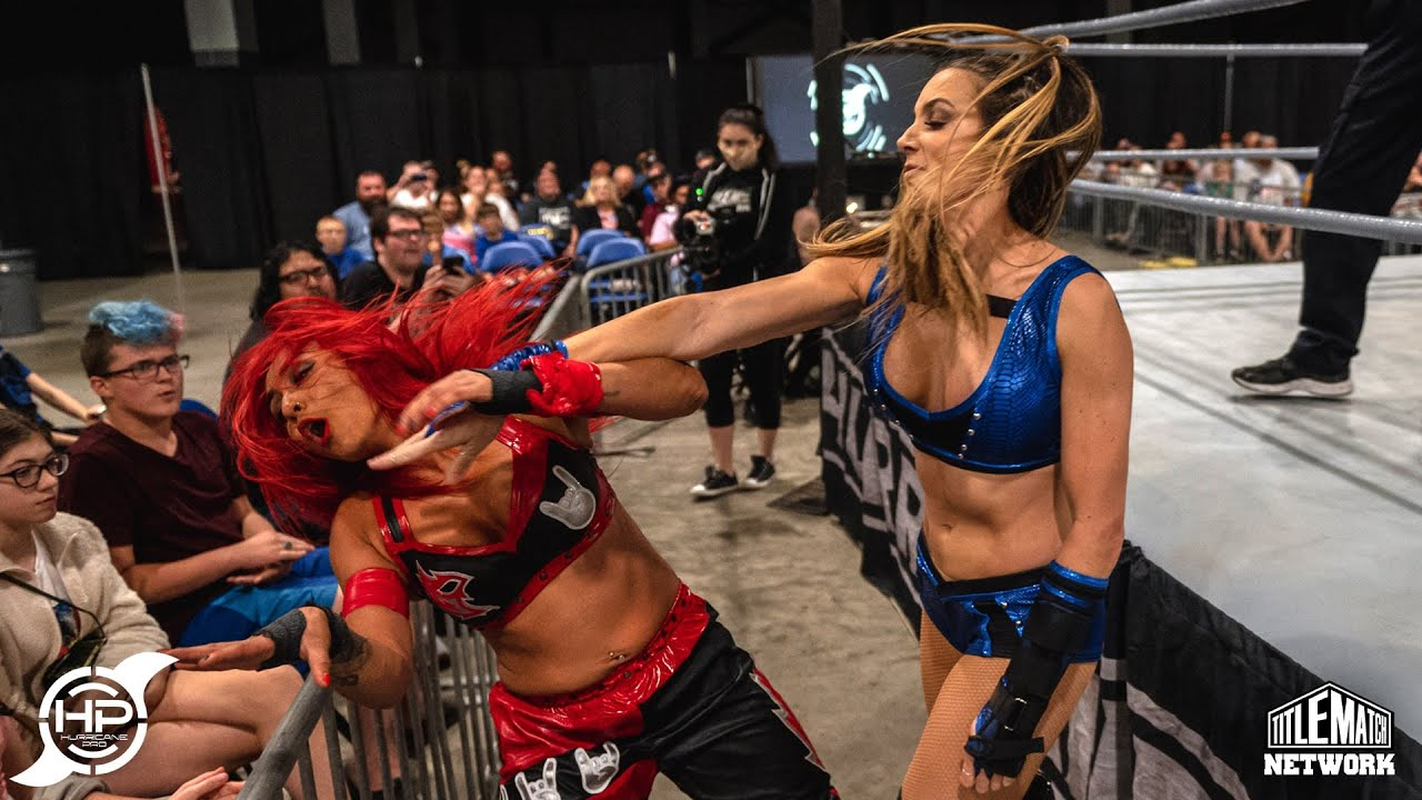 Chelsea Green vs Miranda Alize (Women's Wrestling) Hurricane Pro
