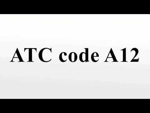 ATC code A12