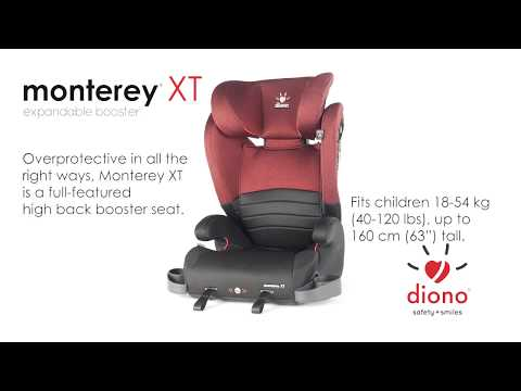 Diono Monterey XT Expandable Booster - Canadian English
