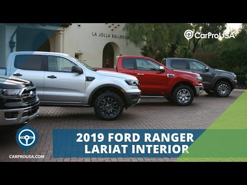 2019 Ford Ranger Shows Off Refined Mid-Sized PIckup Style